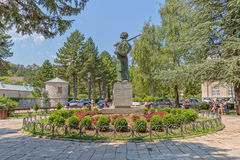 Ivan Crnojevic statue Cetinje Royalty Free Stock Photography