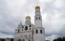 Ivan de Grote Klok in Moskou het Kremlin Stock Foto's