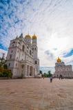 Ivan de Grote Klokketoren en Veronderstellingsklokketoren binnen royalty-vrije stock afbeeldingen