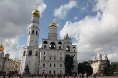 Ivan de Grote Klokketoren in het Kremlin moskou Rusland royalty-vrije stock fotografie