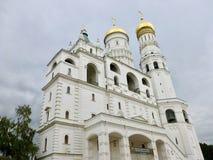 Ivan de Grote Klokketoren in Moskou het Kremlin stock foto