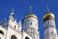 Ivan de Grote Klokketoren Moskou het Kremlin De Plaats van de Erfenis van de Wereld van Unesco Royalty-vrije Stock Fotografie