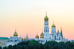 Ivan de Grote klokketoren in Moskou het Kremlin, Rusland royalty-vrije stock fotografie