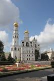 Ivan det stora Klocka tornet i Kreml moscow Ryssland Royaltyfria Bilder