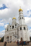 Ivan det stora Klocka tornet i Kreml moscow Ryssland Arkivfoto