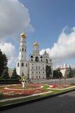 Ivan det stora Klocka tornet i Kreml moscow Ryssland Royaltyfri Bild