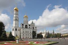 Ivan det stora Klocka tornet i Kreml moscow Ryssland Arkivbild