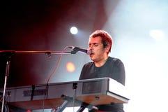 Ivan Ferreiro band performs at Palau Sant Jordi Royalty Free Stock Photo