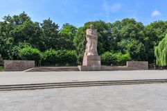 Ivan Franko Monument - Lvov, Ukraine Stock Photo