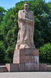 Ivan Franko Monument - Lvov, Ukraine Royalty Free Stock Images