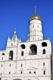 Ivan Great Belfry. Moscow Kremlin. UNESCO World Heritage Site. Stock Images