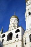 Ivan Great Bell-toren Het oriëntatiepunt van Moskou het Kremlin De Plaats van de Erfenis van de Wereld van Unesco royalty-vrije stock afbeeldingen