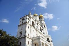 Ivan Great Bell-toren van Moskou het Kremlin De Plaats van de Erfenis van de Wereld van Unesco stock fotografie