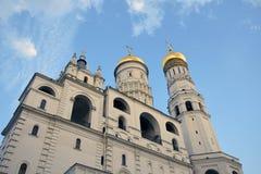 Ivan Great Bell-toren van Moskou het Kremlin De Plaats van de Erfenis van de Wereld van Unesco royalty-vrije stock afbeelding