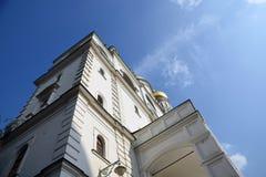 Ivan Great Bell-toren van Moskou het Kremlin Kleurenfoto royalty-vrije stock foto's