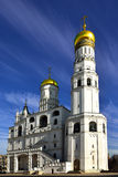 Ivan the Great Bell Tower, with Assumption Belfry on the left Royalty Free Stock Image