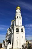 Ivan the Great Bell Tower, with Assumption Belfry on the left Stock Images