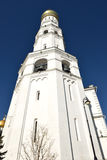 Ivan Great Bell Tower (Bottom View), Moscow Kremlin complex Royalty Free Stock Image