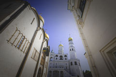 Ivan the Great Bell Tower, Cathedral Square Moscow Kremlin Stock Images
