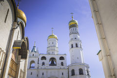Ivan the Great Bell Tower, Cathedral Square Moscow Kremlin Stock Photography
