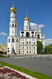 Ivan Great Bell Tower 1508, church tower inside Moscow Kremlin complex Royalty Free Stock Images