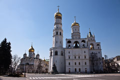 The Ivan the Great Bell-Tower complex Royalty Free Stock Photography