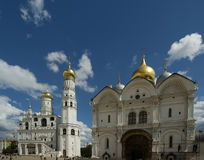 Ivan the Great Bell-Tower complex. Moscow Kremlin Royalty Free Stock Photo