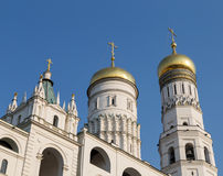 Ivan the Great bell tower, Kremlin, Moscow, Russia Royalty Free Stock Images