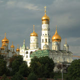 Ivan the Great Bell Tower in the Kremlin Royalty Free Stock Photos