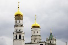 Ivan Great Bell tower of Moscow Kremlin. Color photo Stock Photo