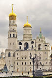 Ivan Great Bell tower of Moscow Kremlin. Color photo Stock Image