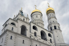 Ivan Great Bell tower of Moscow Kremlin. Color photo royalty free stock photography