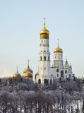 Ivan the Great Bell Tower in Moscow Kremlin. Russia Stock Images