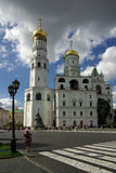 Ivan the Great Bell Tower in the Moscow Kremlin Stock Image