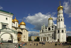 Ivan the Great Bell Tower in the Moscow Kremlin Stock Photography