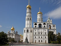 Ivan the Great Bell Tower, Moscow Kremlin, Russia. Stock Image