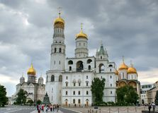 Ivan the great bell tower Royalty Free Stock Image