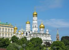 Ivan the Great Bell Tower in Moscow Kremlin, Russia stock photo