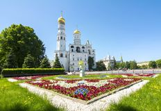 Ivan the Great Bell Tower in Moscow Kremlin, Russia royalty free stock photography