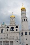 Ivan the Great Bell tower. Moscow Kremlin. UNESCO Heritage. Royalty Free Stock Photography