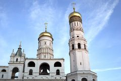 Ivan the Great Bell tower. Moscow Kremlin. UNESCO Heritage. Royalty Free Stock Photos