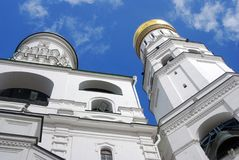Ivan the Great Bell tower. Moscow Kremlin. Stock Photos
