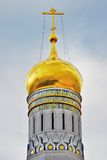 Ivan Great bell tower of Moscow Kremlin Stock Photo