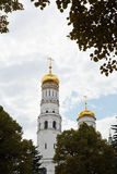 Ivan the Great Bell Tower in Moscow Kremlin royalty free stock photography