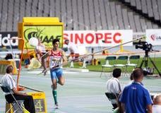 Ivan Horvat van Kroatië de winnaar van het zilver Stock Afbeeldingen