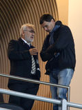 Ivan Ignatyevich Savvidis, niemiec Chistyakov, FC PAOK Zdjęcie Royalty Free