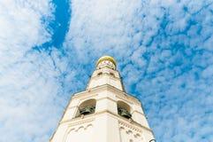 Ivan il grande campanile di presupposto e del campanile dentro Fotografie Stock