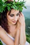 Ivan Kupala egenar ferie flickaunder arkivfoto