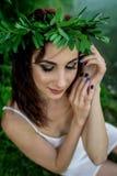 Ivan Kupala egenar ferie flickaunder royaltyfri foto