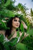 Ivan Kupala egenar ferie flickaunder arkivbild